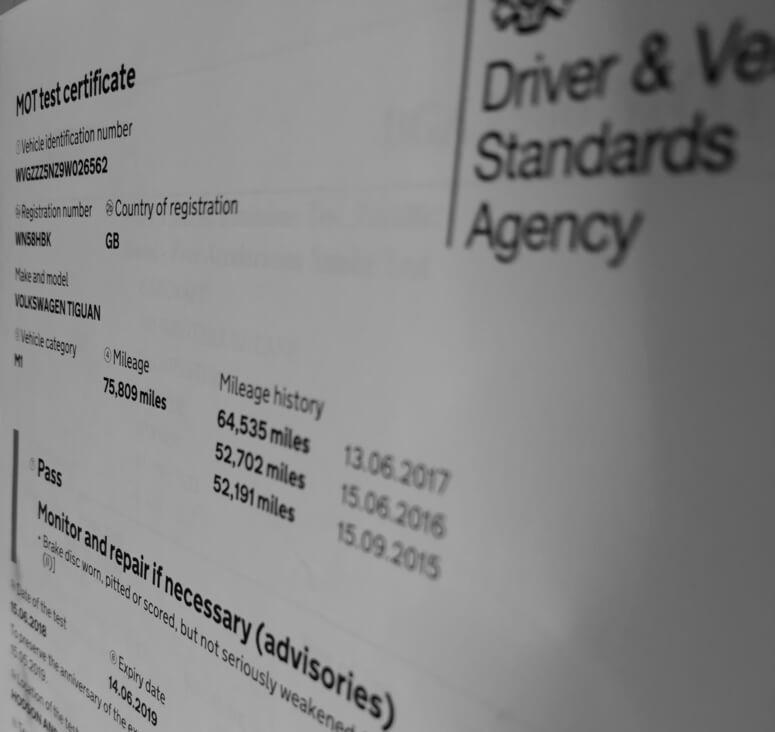 MOT History (CarVeto MOT History Check) In-Depth MOT